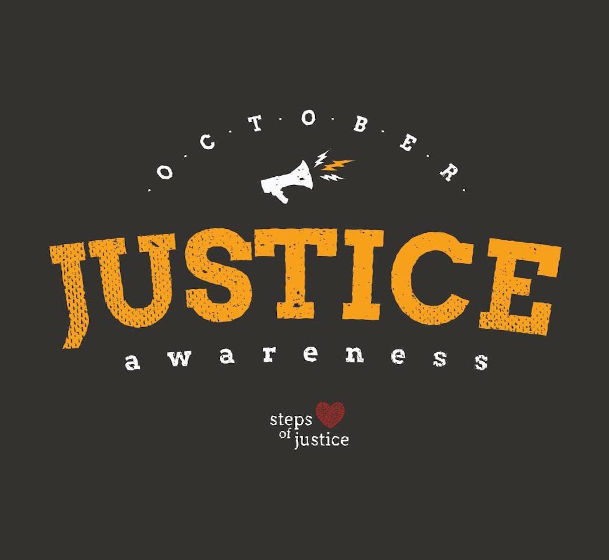 October Justice Awareness